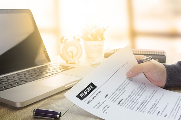 how to write executive resume cv